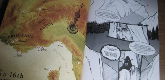 Artwork from Issue #2 of Mörlok: Rise of the Revenants