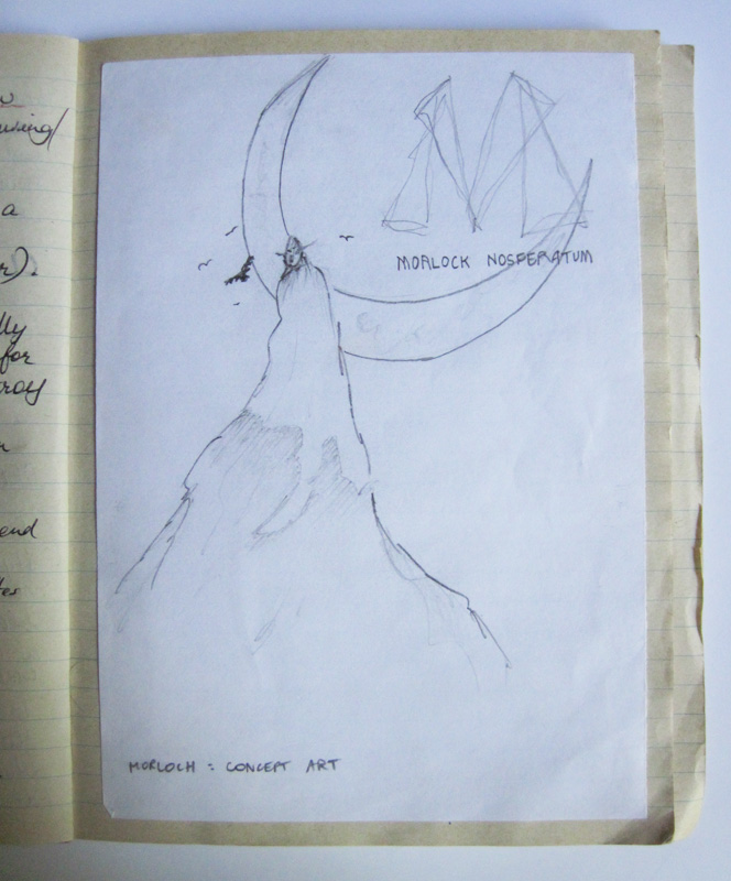 Morlok Original Concept Art