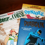 French, Italian and Greek comics