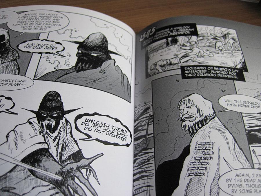 Morlok Issue 2 Rise of the Revenants inked internals