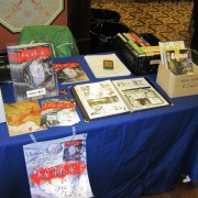 Introducing some indy comics to the Parramatta Collectibles Fair 2012