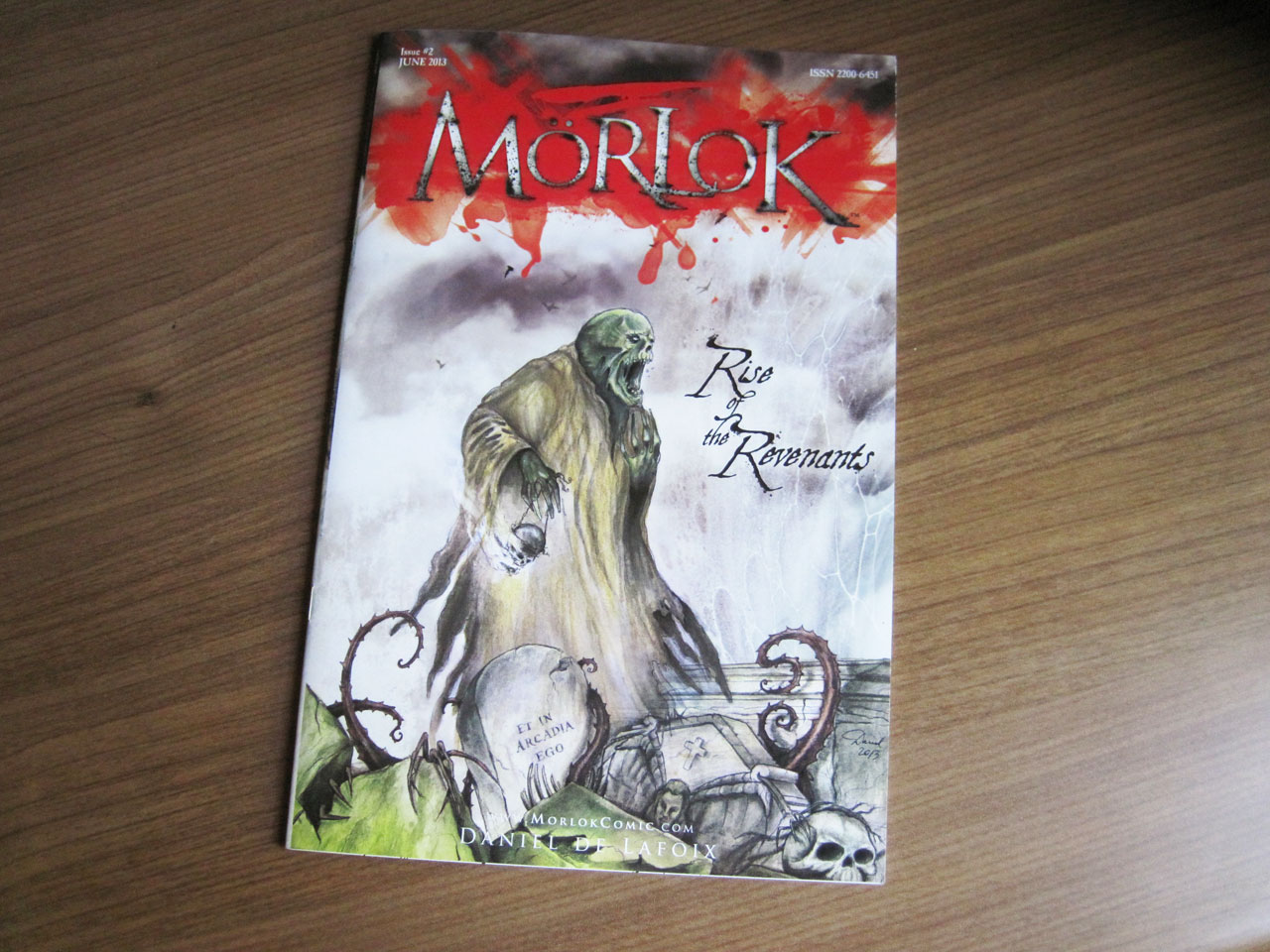 Morlok Issue 2 cover