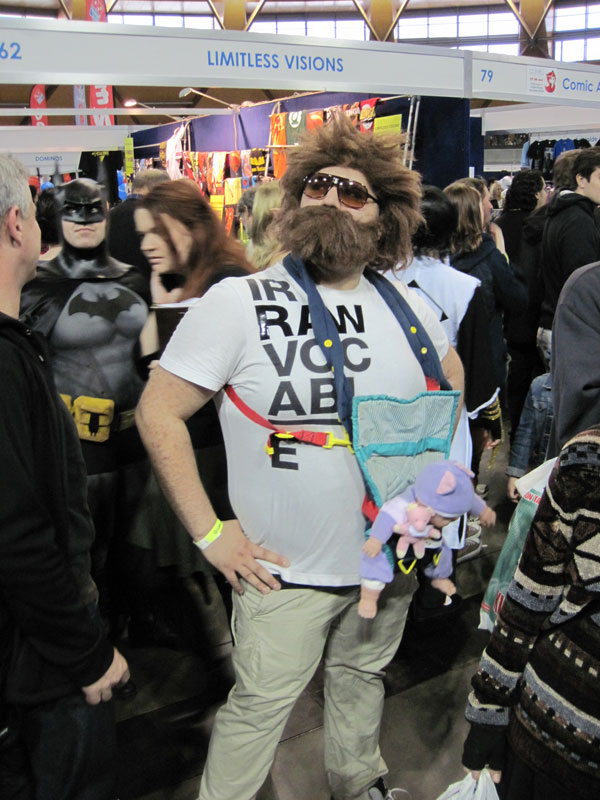 Hangover Galifinakis cosplayer Supanova 2013